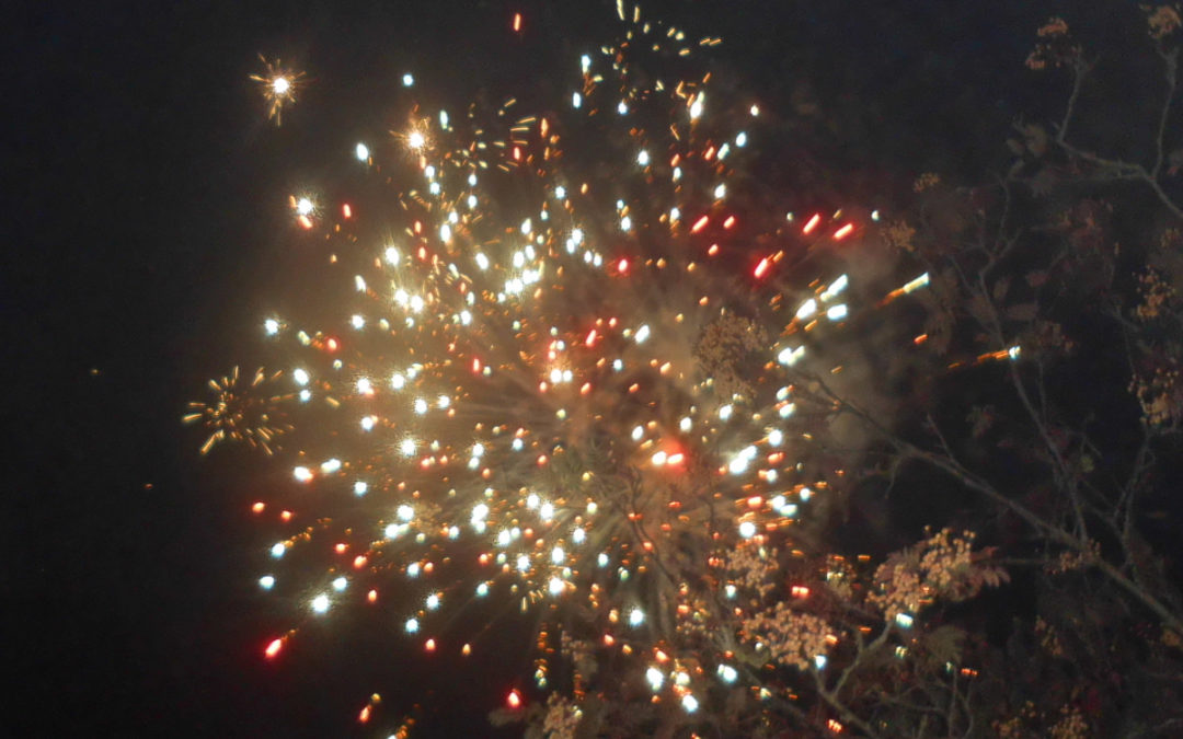 Firework Night fun at Woodstock Residential Care Home