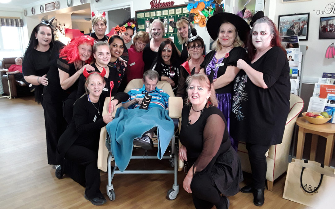 Spooky goings-on at Meyer House Care Home
