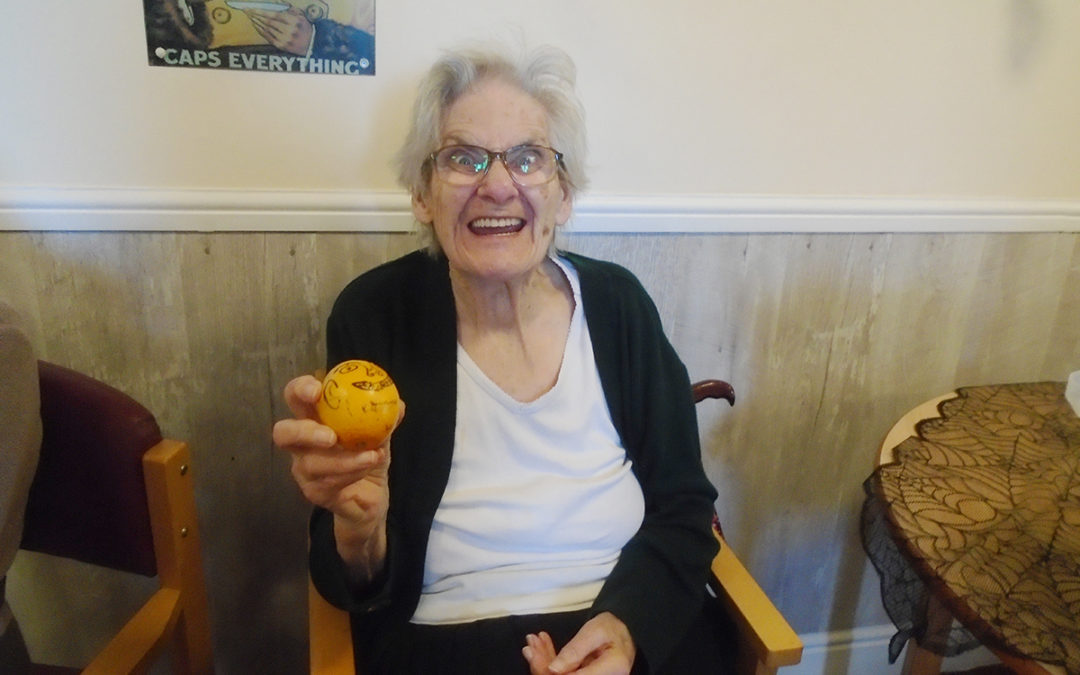 Celebrating Halloween at The Old Downs Residential Care Home