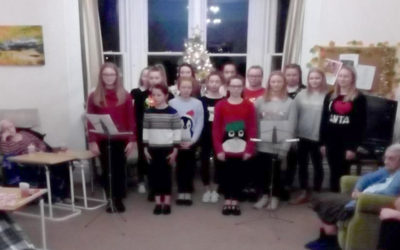 Hilton Hall Dance Academy visited Loose Valley Care Home