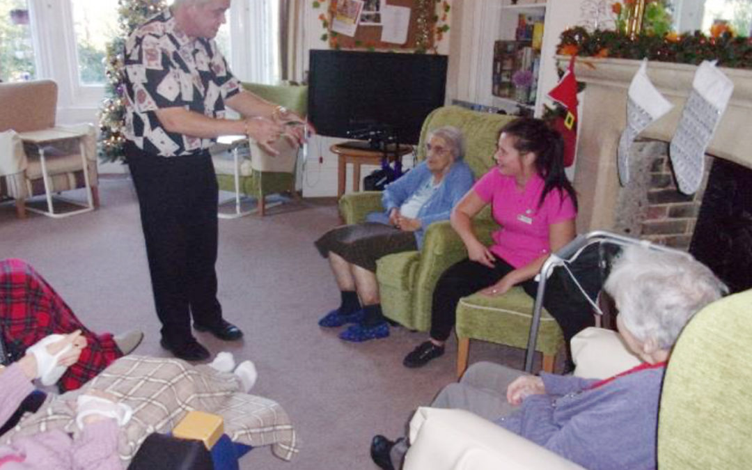 A magical time at Loose Valley Care Home