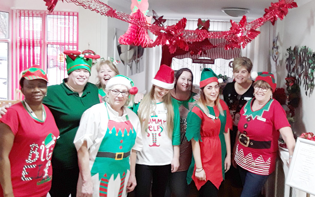 Wishing you an Elfy Christmas from Meyer House Care Home
