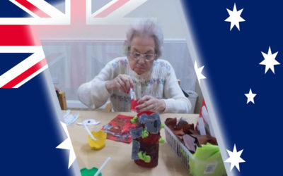 Australia Day preparations at Woodstock Residential Care Home