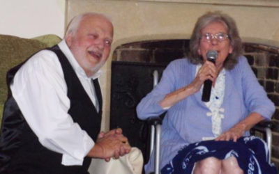 Sounds Revisited with Kelvin Lux at Loose Valley Care Home
