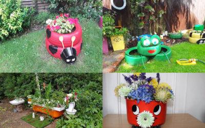 Nellsar in Bloom July winners - unusual planters