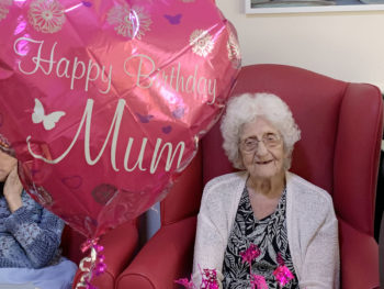 Birthdays and baking at Lulworth House Residential Care Home