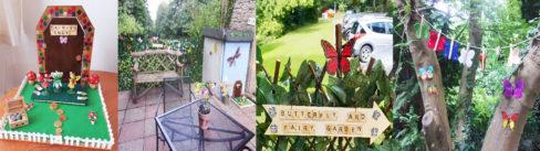 Loose Valley Care Home's beautiful miniature Fairy Garden