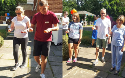 Sports Day at Princess Christian Care Home
