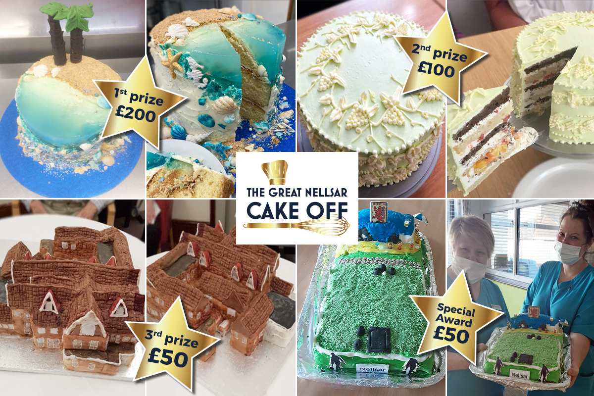 Nellsar residents and staff impress with their fantastic Showstopper Cakes