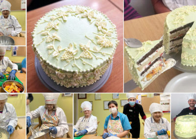 Princess Christian Care Home's Wedgwood Queen's cake