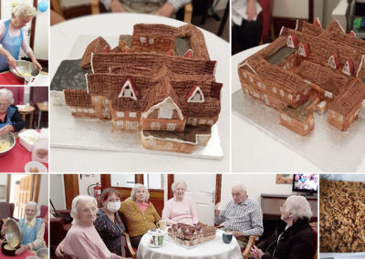 The Old Downs Residential Care Home's 'Home' cake