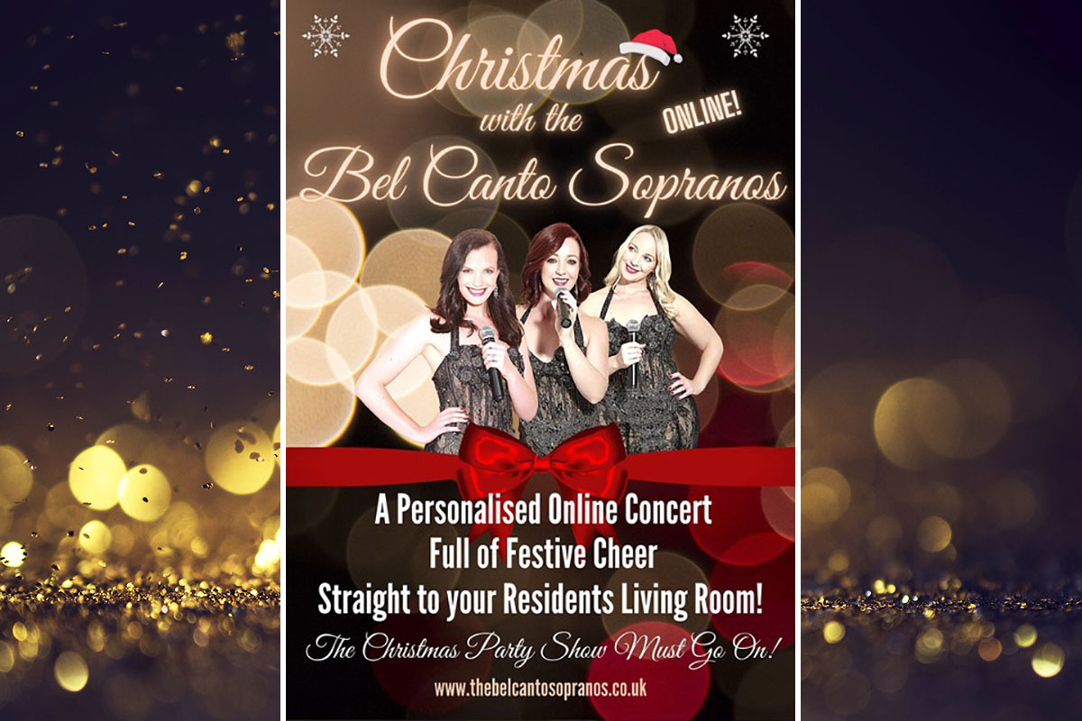 The Bel Canto Sopranos sing for Nellsar Care Homes this Christmas