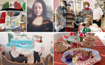 Nellsar residents and staff celebrate Italian culture