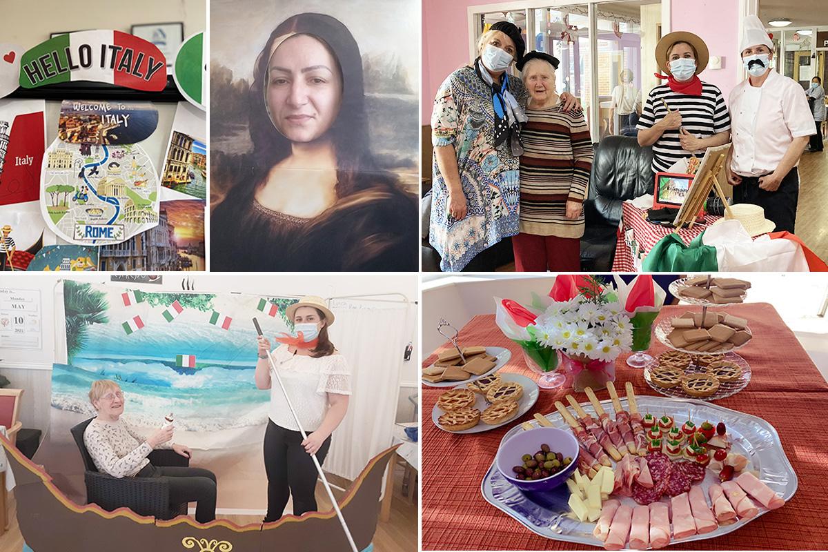 Nellsar Cruise residents celebrate Italian culture