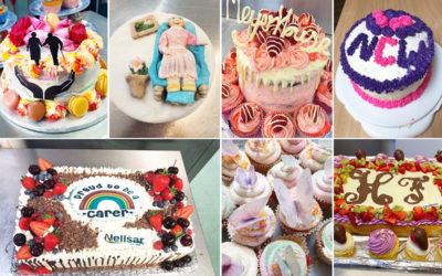 Cake made for Carers Week across Nellsar Homes