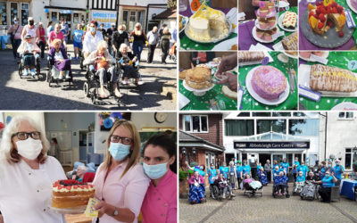 Champion fundraising efforts across Nellsar Homes to support Alzheimers and Macmillan charities