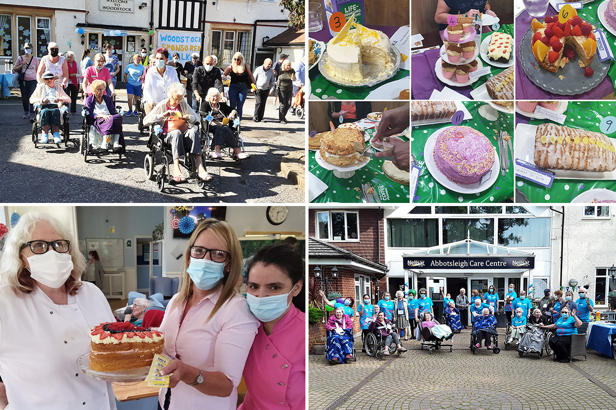 Champion fundraising efforts across Nellsar to support Alzheimers and Macmillan charities